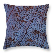 Lace Leaf 1 Throw Pillow