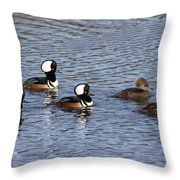 Ladies First Throw Pillow