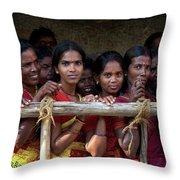 Ladies In Waiting Throw Pillow