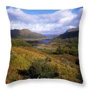 Ladies View, Killarney, Co Kerry Throw Pillow