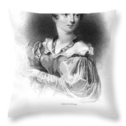 Lady Caroline Lamb Throw Pillow