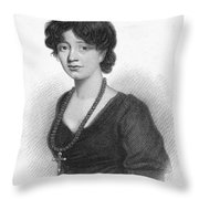 Lady Charlotte Mary Scott Throw Pillow by Granger