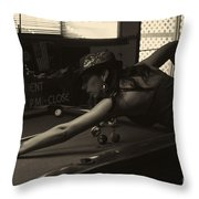 Lady M Throw Pillow