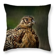 Lady Pheasant Throw Pillow