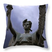 Lady Victory Throw Pillow
