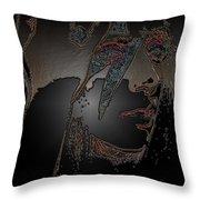 Ladygaga  Throw Pillow