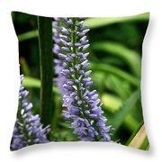 Lady's Mantel Throw Pillow
