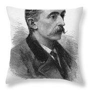 Lafcadio Hearn (1850-1904) Throw Pillow