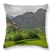 Lake District England Throw Pillow