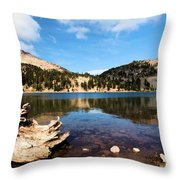 Lake Helen Reflections Throw Pillow