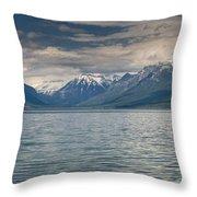 Lake Mcdonald Panorama Throw Pillow