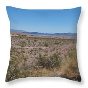 Lake Mead Nevada Throw Pillow