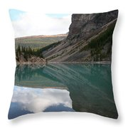Moraine Lake - Lake Louise, Alberta Throw Pillow
