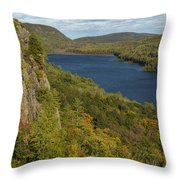 Lake Of The Clouds 4 Throw Pillow