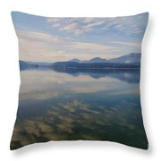 Lake Pend Orille  Throw Pillow