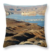 Lake Powell Evening Throw Pillow
