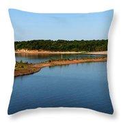 Lake Sardis One Throw Pillow
