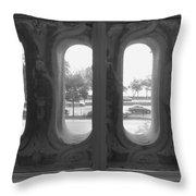 Lake Shore Drive Throw Pillow by Anna Villarreal Garbis