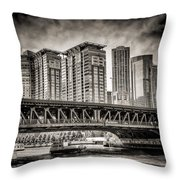Lake Shore Drive Lsd Throw Pillow