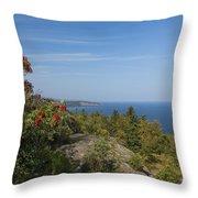 Lake Superior Palisades 2 Throw Pillow
