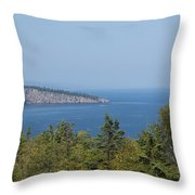Lake Superior Shovel Point 2 Throw Pillow