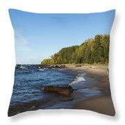 Lake Superior Union Bay 4 Throw Pillow