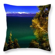 Lake Tahoe Vista Throw Pillow