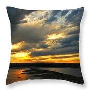 Lake Travis Reflections Throw Pillow