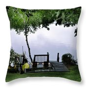 Lakeside Dream 2 Throw Pillow