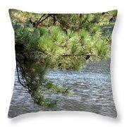 Lakeside Pines Throw Pillow