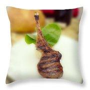 Lamb Chop One Throw Pillow