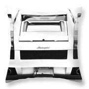 Lambo Gallardo Throw Pillow