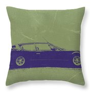 Lamborghini Espada Throw Pillow by Naxart Studio