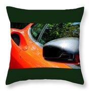 Lamborghini Mirror And Intake Throw Pillow