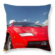 Lamborghini Throw Pillow