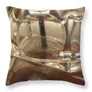 Lampada Di Cristallo Throw Pillow