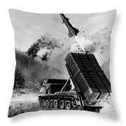 Lance Missile, C1980 Throw Pillow