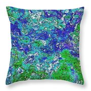 Land And Sea Throw Pillow