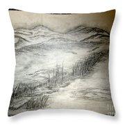 Landscape 50 Throw Pillow