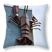 Langusta Lobster Throw Pillow