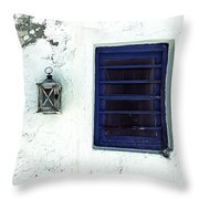 Lantern And Window Throw Pillow