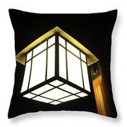 Lantern In The Night Throw Pillow