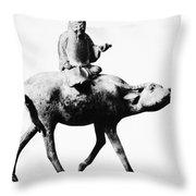 Lao-tzu (604-531 Bc) Throw Pillow