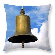 Large Bell Throw Pillow