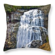 Large Waterfall Throw Pillow
