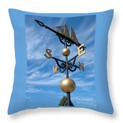 Largest Weathervane Throw Pillow