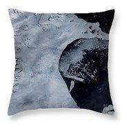 Larsen B Ice Shelf Breaking Away 2 Of 5 Throw Pillow