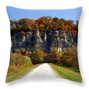 Larue Bluffs 1 Throw Pillow