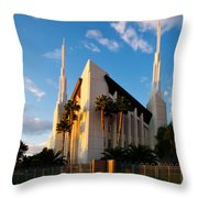 Las Vegas Palms Throw Pillow