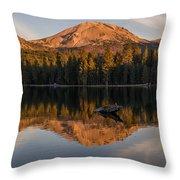 Lassen Reflecting 8 Throw Pillow